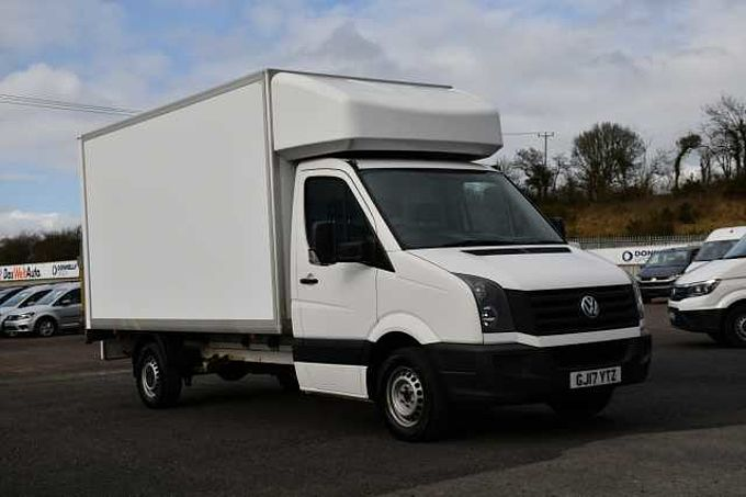 Volkswagen Crafter LWB Luton 2.0TDI (140PS)EU6 CR35 BMT LWB Luton with Tail Lift